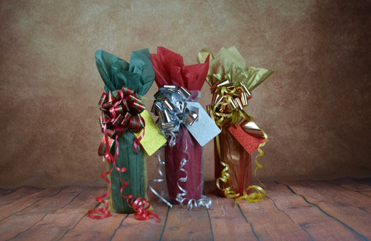 WRAPfinery Christmas Bottle Wrap Kits