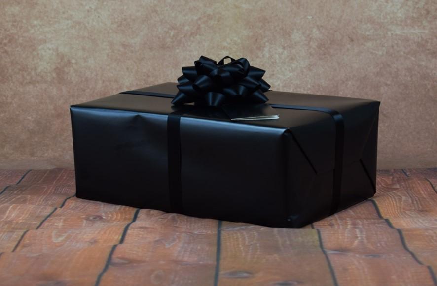 Premium Collection – Gift Wrap Kit – Black