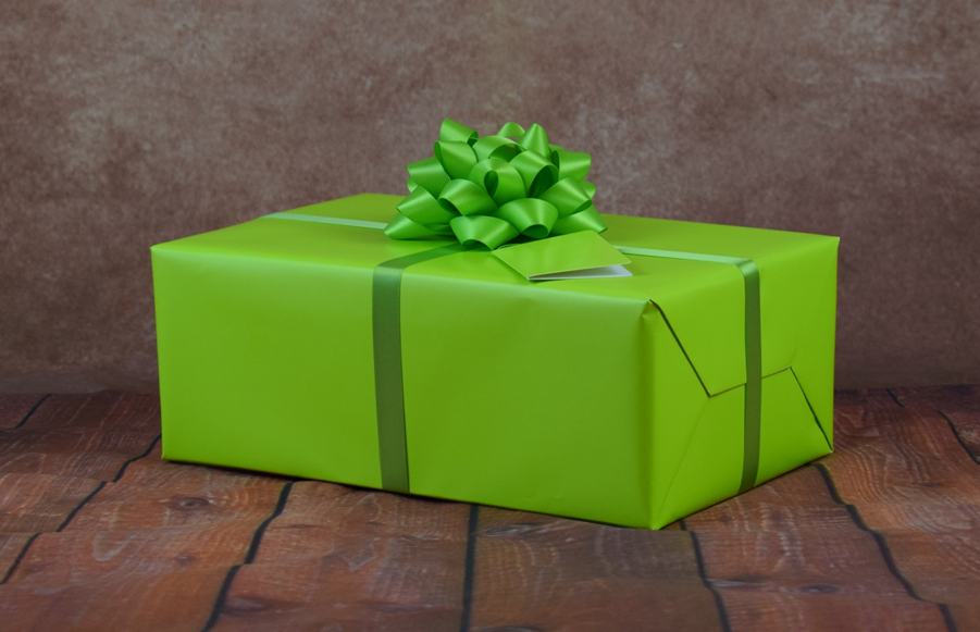 Premium Collection – Gift Wrap Kit – Green