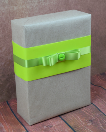 WRAPfinery - Teenager Craft with Green Band