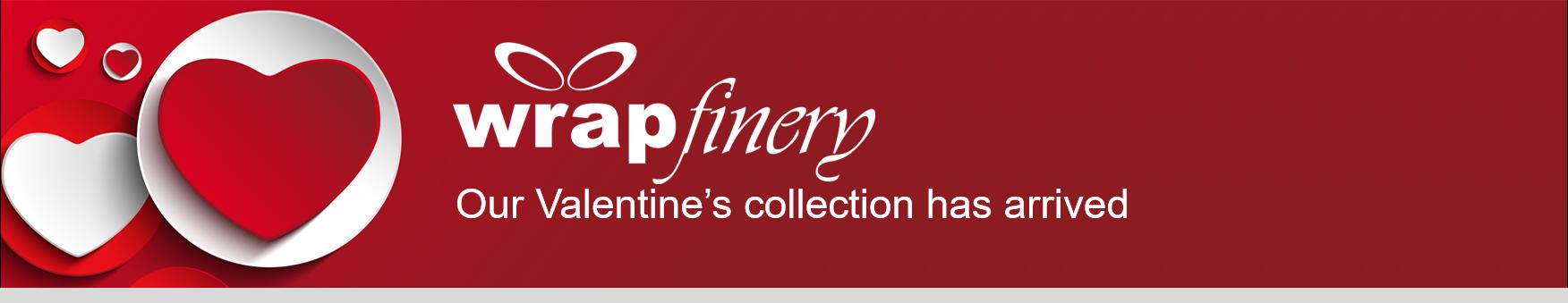 WRAPfinery Valentines Banner Heading